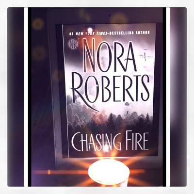 Chasing Fire by Nora Roberts (2011, Hardcover) Like New